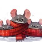 Снежные мышки